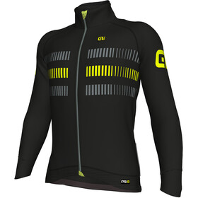 Alé Cycling PRR 2.0 Strada Jacket Men Black Fluo Yellow